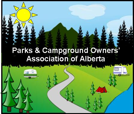 Parks & Campground Owners' Association of Alberta Logo