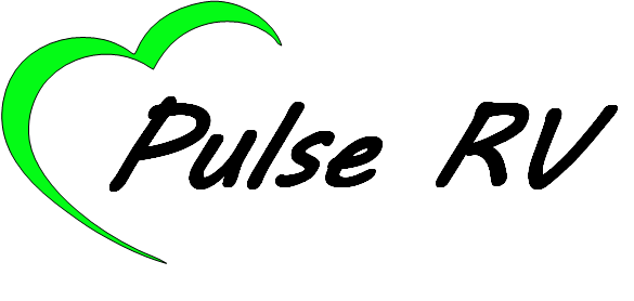 PULSE RV LOGO BLACK WITH OUTLINE